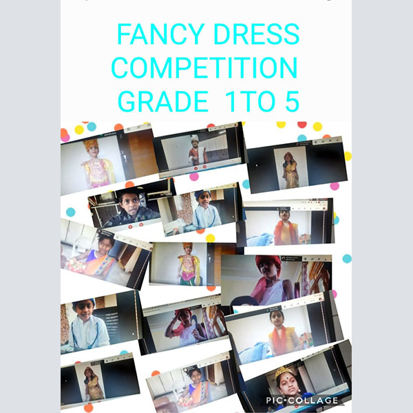 Fancy dress competition-24-4-2021- gr3 to 5