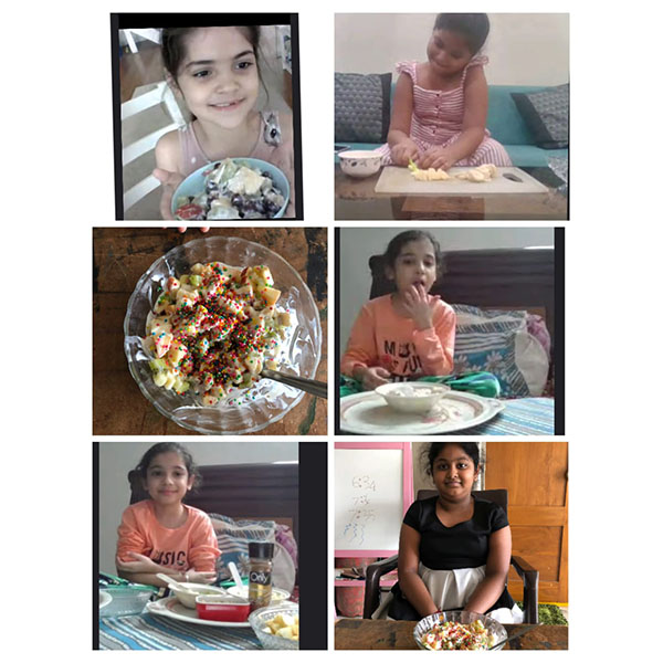 Gr3 to 5 -Fruit salad activity